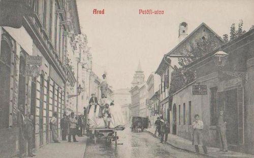 Arad:Petőfi utca,raktár,iroda,üzlet.1909