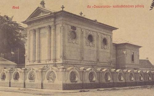 Arad,szabadkőműves páholy 1908