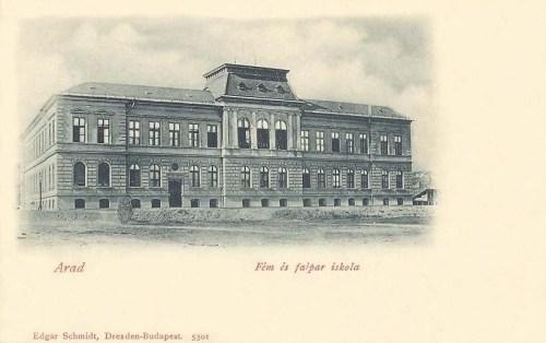Arad:Fa és Fémipari iskola.1900