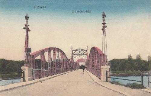 Arad:Erzsébet hid.1916