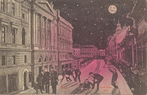 Arad,részegen hazafelé 1911