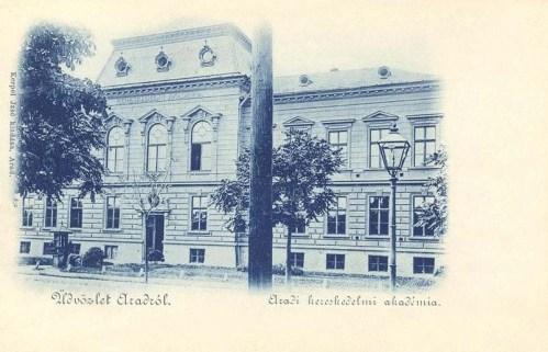 Arad:Kereskedelmi Akadémia.1899
