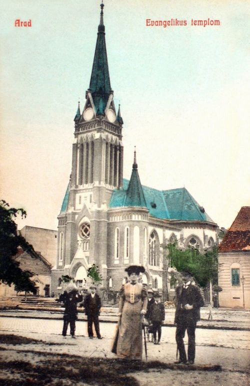 Arad:evangélikus templom.1909