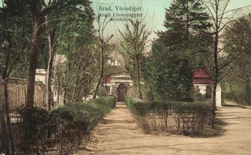 Arad:Városliget,aradi lövészegylet lövöldéje,1912.