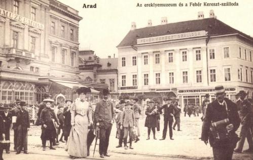 Fehér Kereszt szálloda,1848-1849 Ereklye Múzeum,1906.