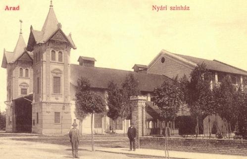 Arad:nyári szinház,1907.