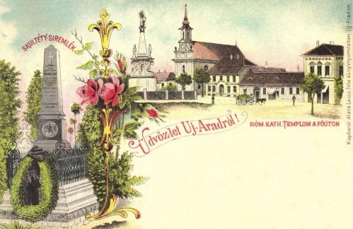Skultéty László (Gábris László) magyar huszár strázsamester siremléke,1899
