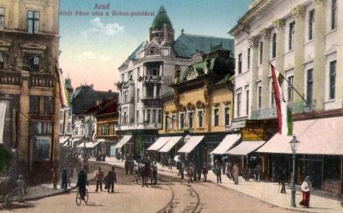 Arad:Bohus palota.1913