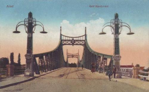 Arad:gróf Károlyi hid.1913