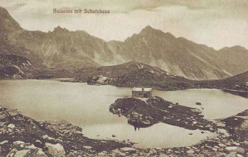 Bilea tó:menedékház (Szeben megye,2034 méter magasságban).1912