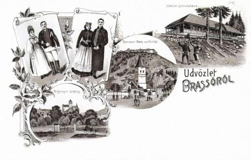 Törcsvár-Barcarozsnyó:szász népviselet,1899.