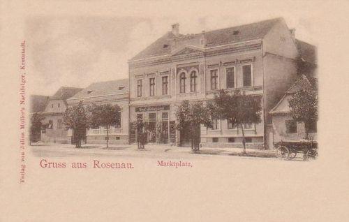 Barczarozsnyó:főtér.1901