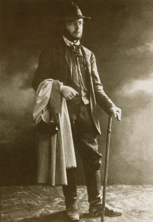 Bartók Béla csik vármegyei népdalgyűjtő körútján Gyergyószentmiklóson, Kováts István fényképész műtermében,1907-ben.