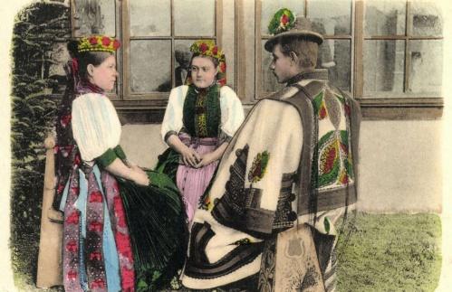 Bánffyhunyad:népviselet,1900.