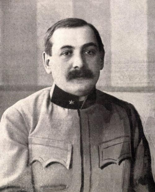 Bátory József a Református Kollégium(ma Bolyai) mennyiségtan-természettan tanára,hadnagyként az első világháború idején.