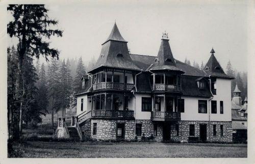Borszék,Barabás(Echo) villa 1941