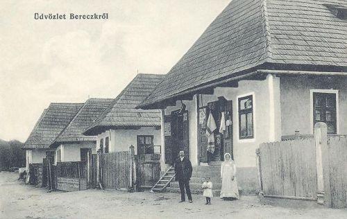 Bereck:Fő utca üzlettel.1912