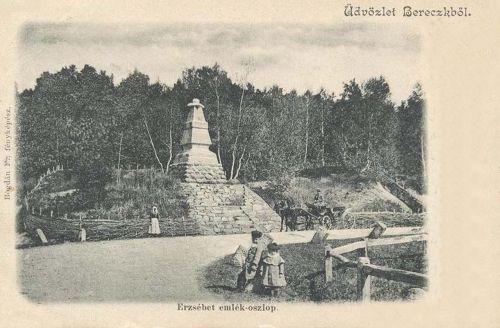 Bereck:ERzsébet királyné emlékmű.1903