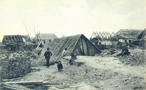 Beresztelke:vihar pusztitása,1913 május 13.