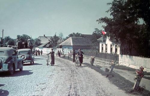 Erdély:magyar honvédek bevonulása,1940 szeptember.