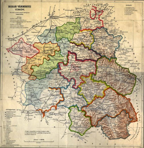 Margitta:Bihar vármegye,margittai járás.