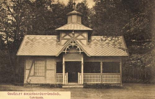 Bikszád:cukrászda,1908.