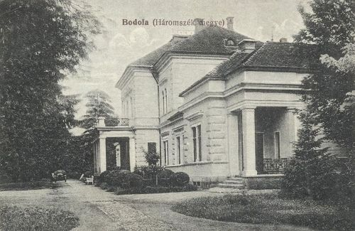 Bodola:kastély.1916
