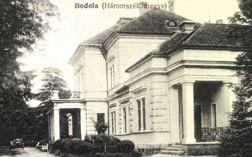 Bodola: Béldi László kastélya,(Háromszék megye),1916.