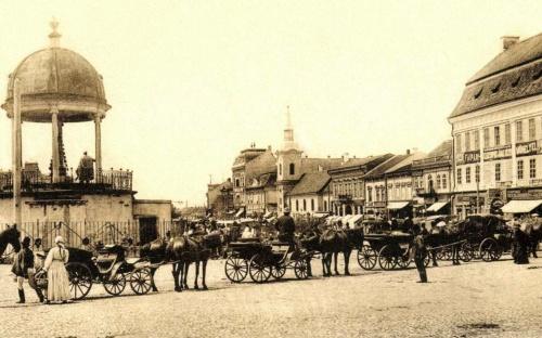 Bodor Péter zenélő kútja,Barátok temploma,Apolló palota,1905.