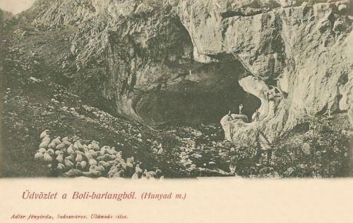 Boli barlang:Erdély egyik legnagyobb barlangja.1903