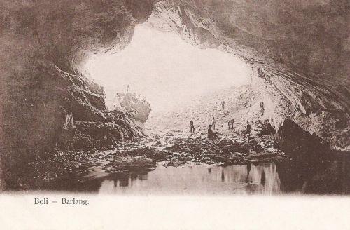 Boli barlang:bejárat.1904