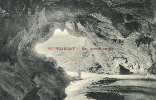 Boli:cseppkőbarlang Petrozsény közelében,1911.