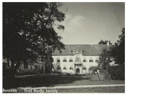 Boncida:gróf Bánffy kastély.1942