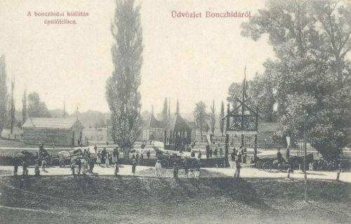Bonchida(Bonczhida):országos mezőgazdasági kiállitás.1907