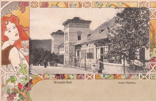 Borszék-Borsec:Remény szálló és étterem,szecesszió.1901
