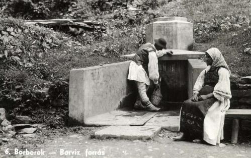 Borberek:borviz-forrás,1942.