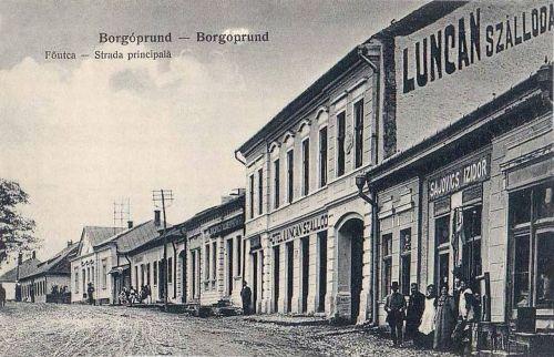 Borgóprund:szálloda a fő utcán.1915