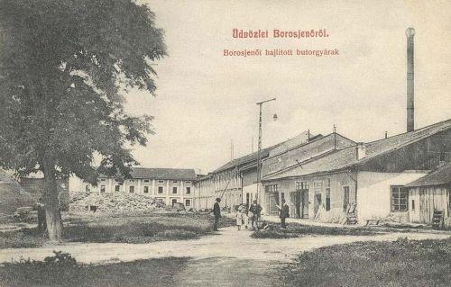 Borosjenő:bútorgyár.1909