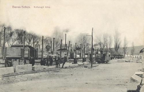 Borossebes:kőfaragó telep.1908