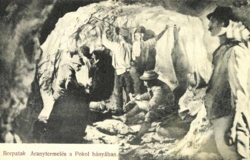 Borpatak:aranytermelés a Pokol bányában,1915.