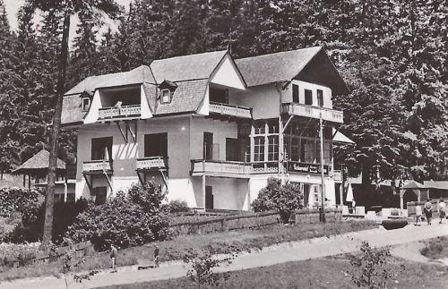 Borszékfürdő:Borszék vendéglő(Posta-Gabi villa).1968