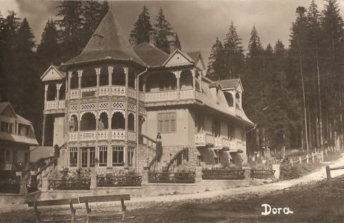 Borszékfürdő:Dora villa.1936
