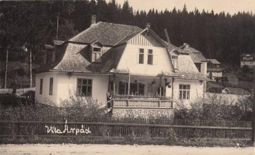 Borszékfürdő:Árpád villa és étterem.1935