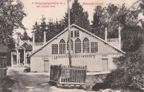 Borszék:Hidegviz Gyógyintézet.1908