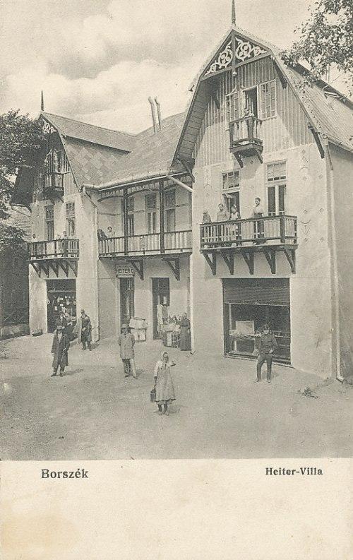 Borszék:Heiter György fényképész villája.1913