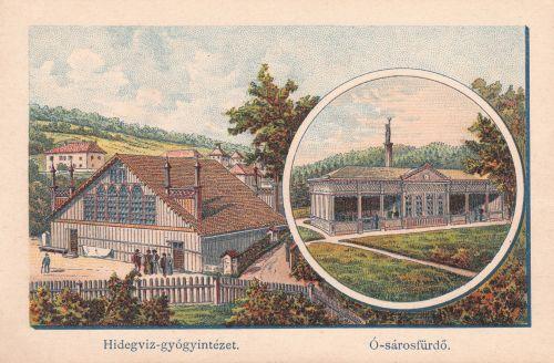 Borszék:Ó-Sáros fürdő és Hidegviz Gyógyintézet.(Morelli Gusztáv).1890