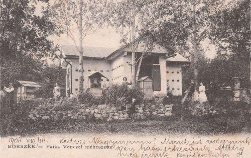 Borszék:Patka Vencel méhészete.1904