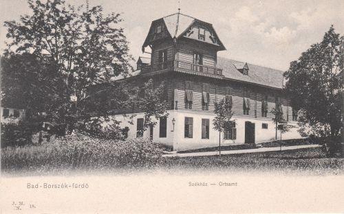 Borszék:Székház.1905