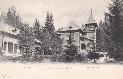 Borszék:Török és Urmánczy villa.1905