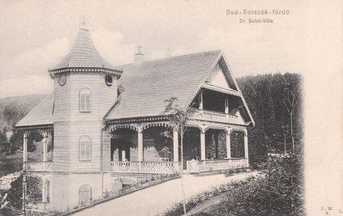 Borszék:Dr.Szini villa.1905